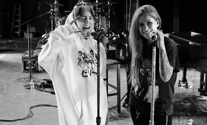 Billie Eilish comenta sobre fazer um show ao lado de Avril Lavigne