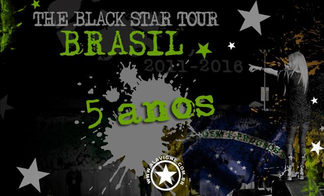 5 ANOS DE SAUDADE: THE BLACK STAR TOUR NO BRASIL!!