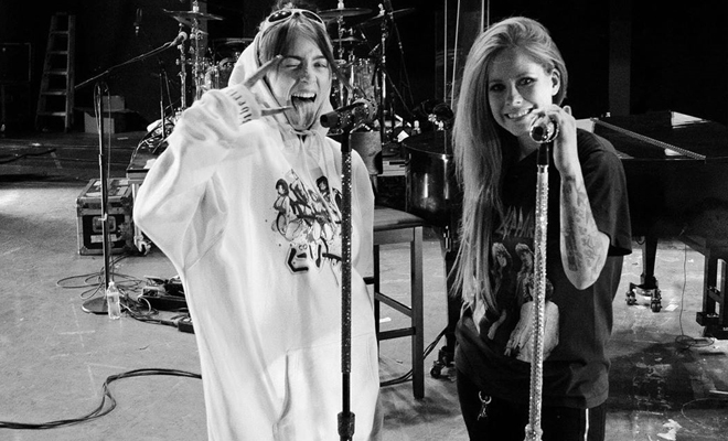 Billie Eilish comenta música de Avril como a mais importante de sua infância