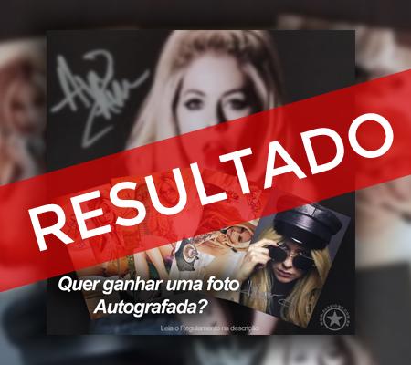 RESULTADO DA PROMOÇÃO: Sorteio de uma foto autografada pela Avril Lavigne!