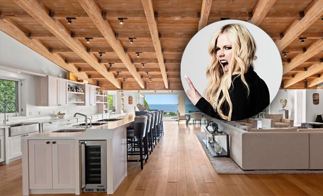 Avril Lavigne compra casa avaliada em 8 milhões de dólares em Malibu