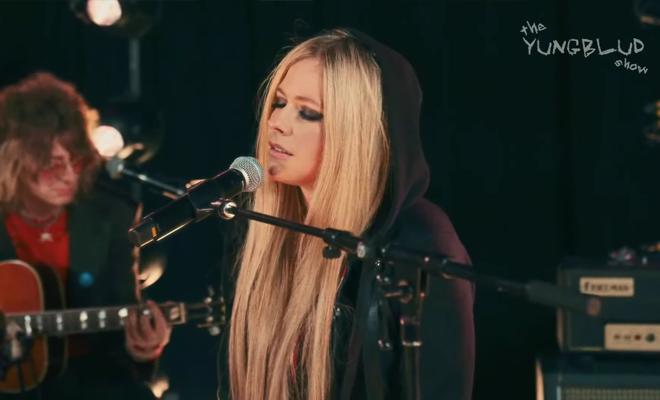 """Participação de Avril Lavigne no """"The Yungblud Show"""""""