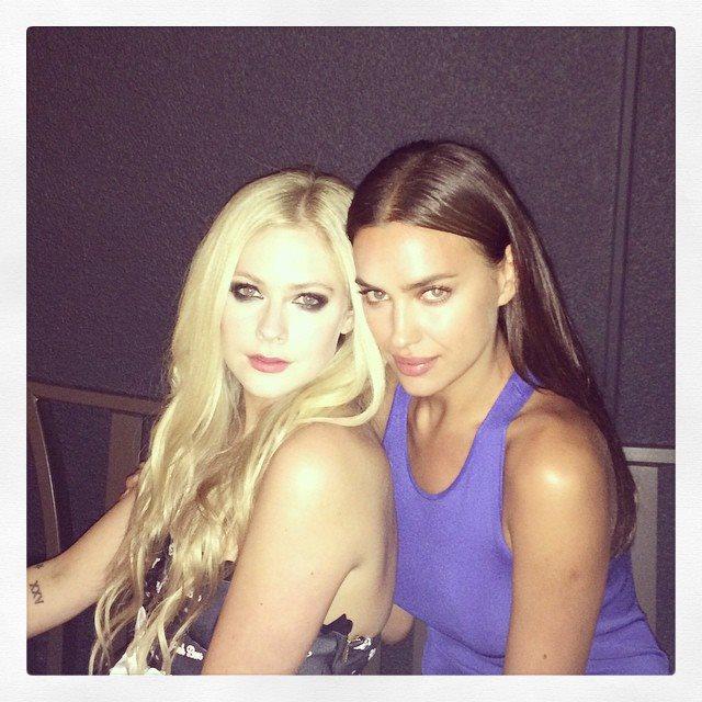 Avril e Irina Shayk