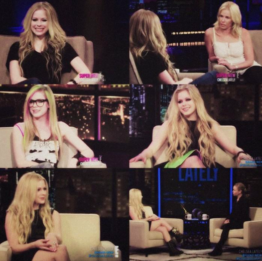 Avril no Chelsea Lately