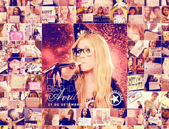 HAPPY BIRTHDAY AVRIL – 30 ANOS!
