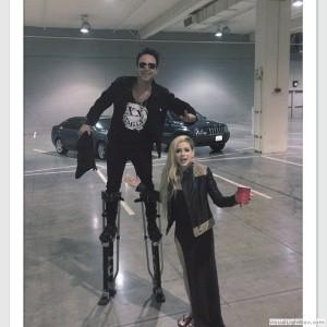 Rodney (baterista) e Avril Lavigne