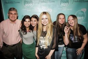 Avril Lavigne Meet & Greet